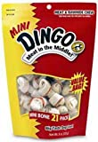 Dingo Mini Bones 21-Pack Value Bag, 9-Ounce