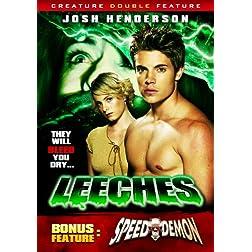Leeches / Speed Demon (Creature Double Feature)