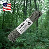 Parachute cord 550 100, U.S MADE FOLIAGE 100