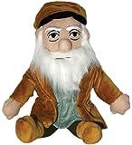 Leonardo da Vinci Plush Little Thinker Doll - by The Unemployed Philosophers Guild