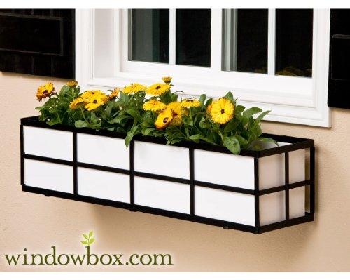 Wrought Iron Window Flower Boxes