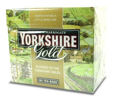Taylors of Harrogate Yorkshire Gold Tea, 80 bags