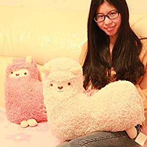 Crazy Genie Llama Alpaca Hug Plush Pillow