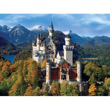 Buffalo Games 2000pc, Neuschwanstein Castle, Bavaria - 2000pc Jigsaw Puzzle