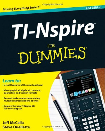 ti nspire cx user manual
