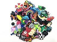 100 Pcs PVC Shoe Charms Fit Crocs & B…
