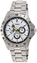 Timex Analog White Dial Mens Watch - T2N518