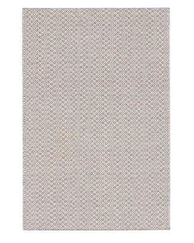 Hand Woven Nevada Rug, Cream/Gray, 4' 1 x 6' 1