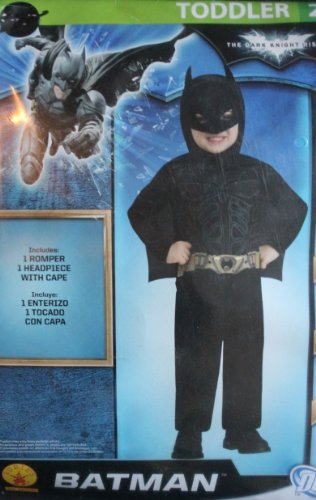 Batman Costume for Toddlers (2t)