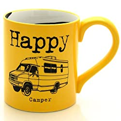 Happy Camper Mug by Our Name is Mud