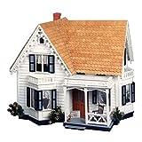 Greenleaf Greenleaf Westville Dollhouse Kit - 1 Inch Scale, Brown, Wood