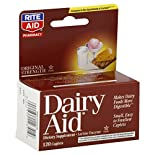 Rite Aid Pharmacy Dairy Aid, Original Strength, Caplets, 120 caplets