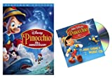 Pinocchio (2-Disc 70th Anniversary Platinum Edition) with Bonus Music CD