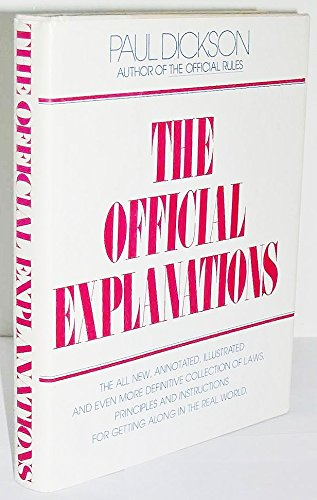 Title: The official explanations