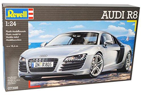 Audi R8 R 8 Coupe Silber 07398 Bausatz Kit 1/24 Revell Modellauto Modell Auto