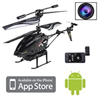 3.5CH RC Remote Control Helicopter with Camera Gyro 3.5 Channel S215 For iPhone / iPod Touch / iPad and Android from Brainydeal
