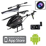 3.5CH RC Remote Control Helicopter with Camera Gyro 3.5 Channel S215 For iPhone / iPod Touch / iPad and Android
