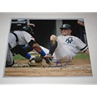 Brett Gardner, Yankees Signed Signed 11x14 Photo with Certificate of Authenticity