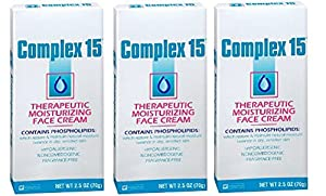 Complex 15 Therapeutic Moisturizing Face Cream - 2.5 oz