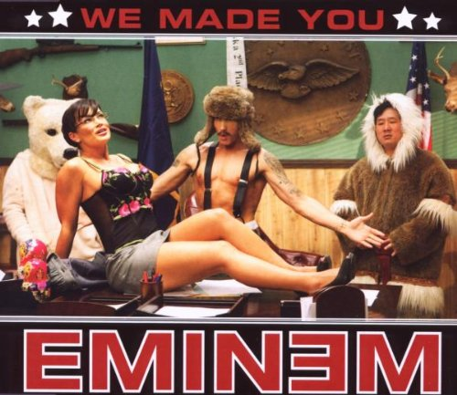 Original album cover of We Made You by Eminem