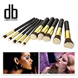 Premium Synthetic Kabuki Makeup Brush Set Cosmetics...