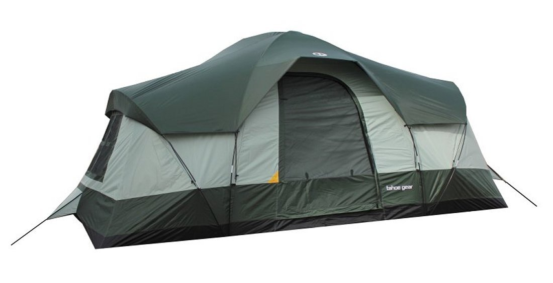 #?5? ?Tahoe Gear Olympia 3-Season Family Cabin Tent  sc 1 st  Hunt And Lunch & How To Choose The Best 10 Person Tent: Guide And Reviews - Hunt ...