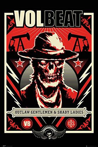Poster Volbeat Ghoul + accessori Ü-Poster der Grösse 61x91,5 cm