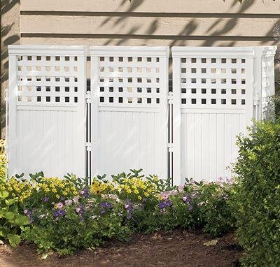 Suncast Outdoor Screen Enclosure - Tall Privacy Fence (Outdoor Privacy Panels compare prices)