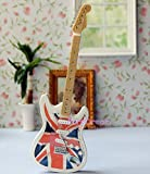 1/6 Scale Barbie Dolls Music Instrument Electric Guitar and Stand 6.7