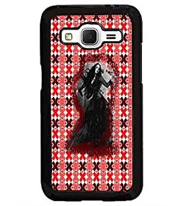 PrintDhaba Ghost D-3494 Back Case Cover for SAMSUNG GALAXY CORE PRIME (Multi-Coloured)