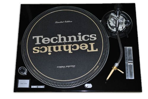 Technics Black Face Plate for Technics SL-1200
