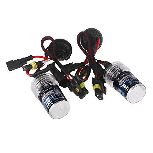 Andoer 2Pcs 9006 35W 6000K Hid Xenon Replacement Bulb Lamps Light Conversion Kit Car Head Lamp Light