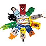 Rite Lite Judaic Plush Passover Finger Puppets, Set Of Ten 2013 Version Model: , Toys & Games For Kids & Child