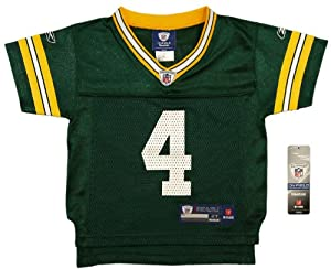 Brett Favre Authentic NFL Green Bay Packers Replica Jersey - Toddler