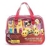 Emoji Children Kids Art and Activity Supplies Bag Set 22pcs Ages 3+