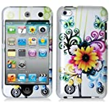 Sunflower 2d Hard Snap-on Crystal Skin Case Cover Accessory for Ipod Touch 4th Generation 4g 4 8gb 32gb 64gb by Electromaster