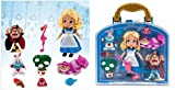Disney Animators' Collection Alice in wonderland Mini Doll Play Set - 5'' - New