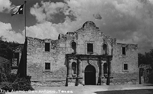 san-antonio-texas-the-alamo-photograph-9x12-collectible-art-print-wall-decor-travel-poster