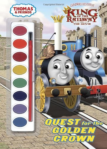 Quest-for-the-Golden-Crown-Thomas-Friends-Paint-Box-Book