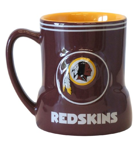 Washington Redskins Coffee Mug - 18Oz Game Time