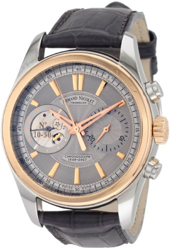 Armand Nicolet Men's 8649A-GL-P964GR2 L07 Limited Edition Classic Two-Toned Hand Wind Watch