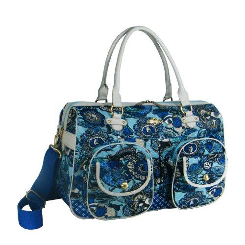 Oilily Weekender Reisetasche Tasche blau blue