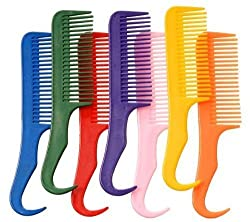 Pulling Comb Horse mane & Tail comb Unbreakable Polymar
