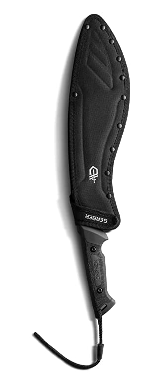 Gerber Gator Kukri Machete [31-002074] (Color: Black)