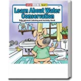 Learn About Water Conservation Coloring and Activity Book Trade Show Giveaway
