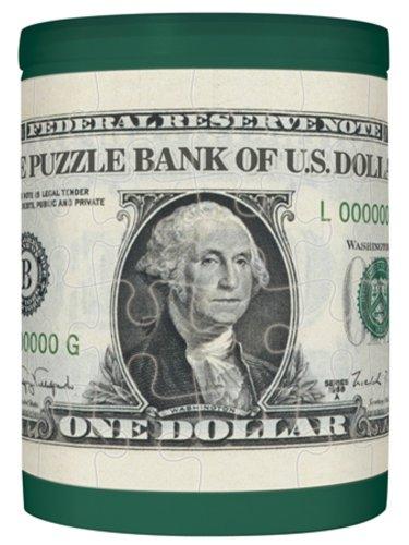 パズルDE貯金箱・1ドル札
