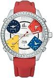 JACOB&Co. (ジェイコブ) 腕時計 ファイブタイムゾーン JC-1D クォーツ [並行輸入品]