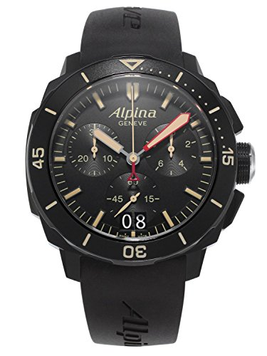 Alpina Seastrong Diver 300 Divers Watch AL-372LBBG4FBV6