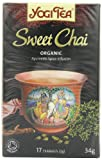 Yogi Tea Sweet Chai 17 Teabags (Pack of 6, Total 102 Teabags)