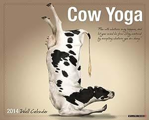 Cow Yoga 2014 Wall Calendar